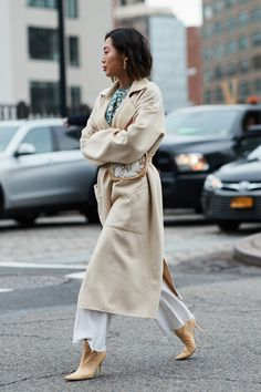 See the looks that caught our attention, and stay tuned for more of NYFW's top street style moments. #WomensFashion
