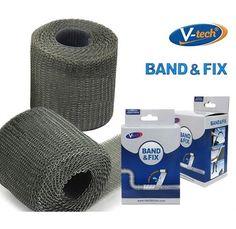 VTech BAND & FIX Water Curable Mending Tape Instant Water Borne Repair DIY Home  #BANDFIX