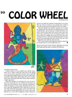 Crazy Color Wheel- Arts & Activities