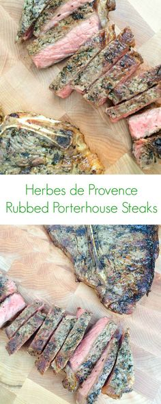 Herbes de Provence Rubbed Porterhouse Steak - The Lemon Bowl