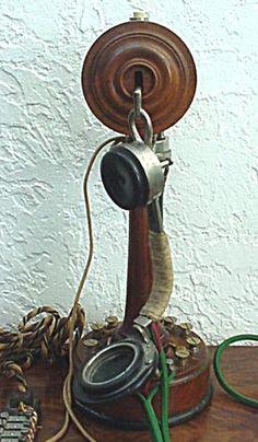 Téléphone Berthon SGT de 1880