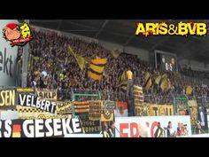 ARIS & BVB_BLACK AND YELLOW BROTHERS(By Ultras Aris) - YouTube Black N Yellow, Brother, Youtube, Europe, Youtubers