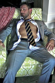 Mens Fashion Suits, Mens Suits, Hairy Men, Bearded Men, Man Shed, Hot Dads, Andrew Christian, Love Bear, Hommes Sexy