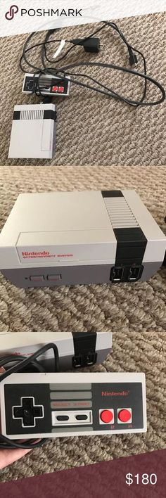 ❌SOLD❌ Nintendo Entertainment System nes classic edition. White console. Bought it for my four year old son for his 4th birthday and only played with it once. Like brand new. Bundle and save an extra 10% Tops