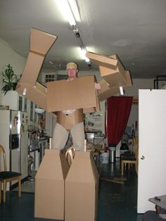 carboard suit 5.0 1