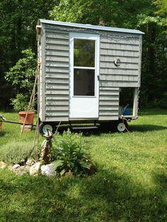 Relaxshacks.com: A Mini Art Studio/Reading and Writing Hut On Wheels!
