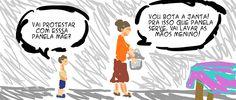 RABISCOS ENQUADRADOS: PANELAS CASUAIS