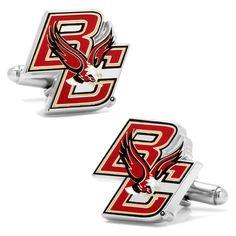 Boston College Eagles Cuff Links, Men's, Red