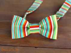Mens Bow Tie  Bright summery blue yellow orange by becauseimme (Accessories, Suit & Tie Accessories, Bowties, team fest, boys bow tie, boy boys, pretied bow tie, yellow green lime, turquoise teal blue, white orange red, man men, mans mens, teen teenager, prom homecoming, semiformal, bow tie ties bowtie)