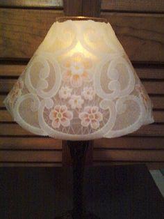 My Own Parchment Design - Tea Light Shade - http://allthingsparchmentcraft.blogspot.com