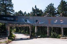 Sarajevo Olympic ruins