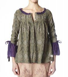 odd molly- bakers cross blouse
