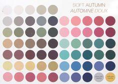 Colorimétrie : Automne soft