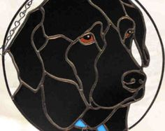 Custom Stained Glass Pet Portraits. by islandesign on Etsy
