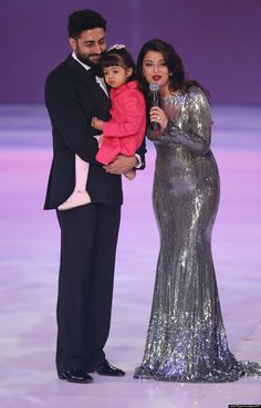 Stunning Silver Gown - Aishwarya Rai - Huffington Post Canada
