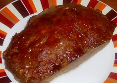 This is basically my meatloaf I do...but I use slightly crushed up stuffing mix instead of bread crumbs.