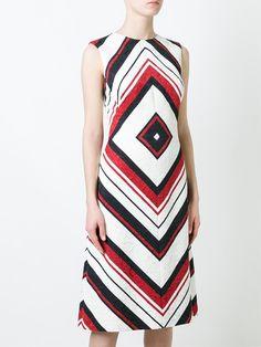 Dolce & Gabbana Vestido evasê estampado