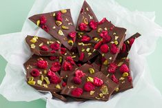 Chocolate Bark Recipe For Easter   Dark Chocolate & Pistachio Bark – Kayla Itsines
