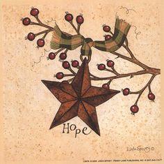 Hope, Art Print by Linda Spivey