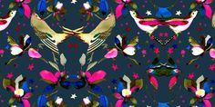 Galeria-Patterns | Lola San Roman  watercolor print