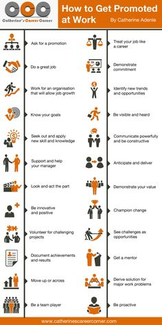 Infographic: How to Get Promoted at Work