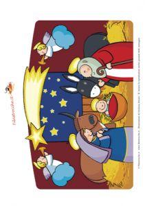 Stal / Addobbi di Natale - Ghirlanda, Il Presepe - Stampa, disegna e crea con Filastrocche.it