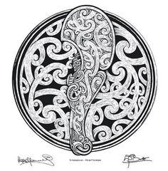 Kees Meeuws & David Burke - The Battle Begins New Zealand Tattoo, New Zealand Art, Stone Carving Tools, Lion Forearm Tattoos, Band Tattoo Designs, Maori Patterns, Maori People, Polynesian Art, Maori Tattoo Designs