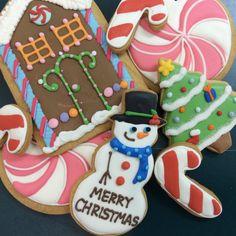 Christmas/Holiday icing cookies