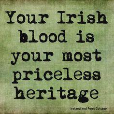 Proud to he Irish