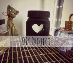 [DIY Project] Dark & Pretty Jars