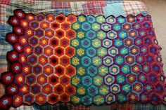 So having just finished one blanket, my thoughts turn to the next- there are two ideas floating around in this big ol' brain, one is a bl...