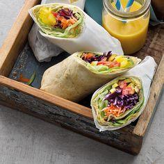 Avocado Hummus, Fresh Rolls, Ethnic Recipes, Ciel, Beverage, Tomatoes, Purple Cabbage, Hummus, Skinny Kitchen