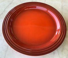 LE CREUSET DINNER PLATE CERISE CHERRY RED STONEWARE 10 5/8TH NEW | eBay Le Creuset, Cherry Red, Dinner Plates, Stoneware, Entertaining, Ebay