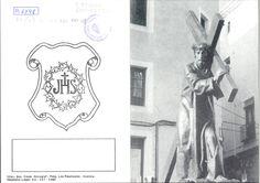 Semana Santa 1985 2 hojas plegadas con los cultos que la Hermandad de Nuestro Padre Jesús Nazareno (del Puente) celebra durante el año 1985
