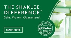 Shaklee:Healthy Weight, Nutrition,Home,Beauty Products