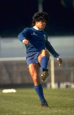 A Young Diego Maradona