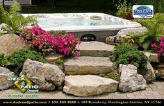 hot tub deck designs   ... /photos/189746/Back-deck-and-hot-tub-ideas-tropical-patio-los-angeles