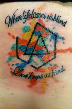 Linkin Park Tattoo #linkinpark  #chesterbennington #lyrics #themessenger