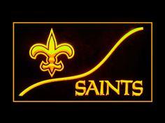 New Orleans Saints Cool Display Shop Neon Light Sign