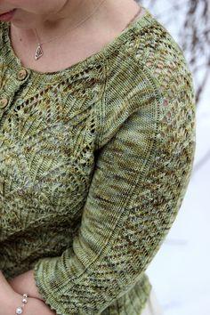 Lace cardigan by Simona Merchant-Dest