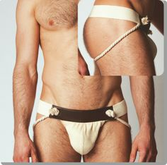 Zeus Collection - Modus Vivendi  natural jockstrap 14112_natural  Medium