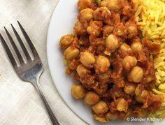Sunday Slow Cooker: Chana Masala | Slender Kitchen - 5p+ / 3/4 c