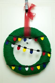 Charlie Brown Christmas wreath