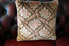 Velvet tapestry pillow case Decorative Cushion by vintagdesign