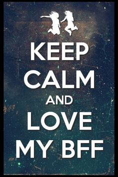 keep calm and love isabela she is my bftf