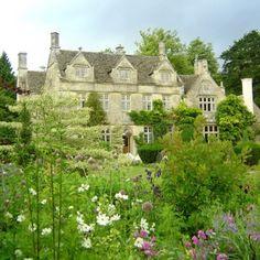 Barnsley House Hotel, Gloustershire. Former home of Rosemary Varey, plantswoman, garden writer and garden designer.