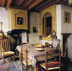 17th century dutch merchant houses | Pilgrim's lodging in Netherlands World of Interiors Dec 08 trouvais ...