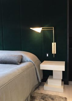 Green with envy master bedroom