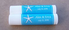 "2.5"" x 1.75"" Personalized Lip Balm Labels"