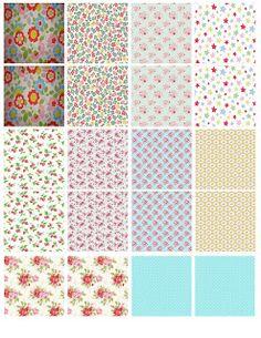 Kidston / Shabby Printables including decorative plates, floral jugs, etc :)